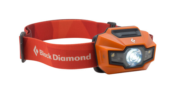 Black Diamond Storm Headlamp vibrant orange